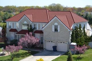 This roof gives this the best of both world's for these homeowners in Voohees,NJ -- ultimate protection as well as great curb appeal!