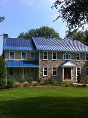 These solar thin film roofs are not only durable but they are also very energy efficient which is the exactcombination these homeowners in Gladwyne, PA were looking for!