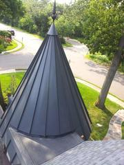 Our experienced crew are some of the only contractors capable of designing and fabricating custom metal roofing. If you have any metal roofing questions or concerns call Global Home Improvement.
