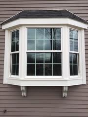 Marvin Bay Window with Ultrex Fiberglass installed in Union, NJ.