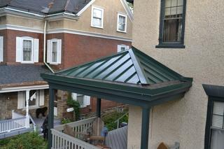 This was a small Yankee pool gutter in installation we did in Narberth, PA! Our crew showed great attention to detail on this job