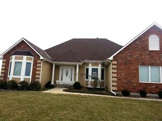 Upgraded Roof Shingles to Malarky Legacy Impact Resistant at a home in Olathe, Kansas. Also removed the lower roof vents.