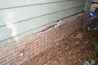 What was once a crack in the foundation is now a gap.
