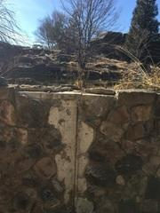 This image shows the crack in the wall