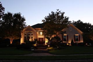 Landscape Lighting in Wall Township, NJ