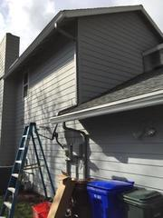 The gutters are now installed in Gresham.