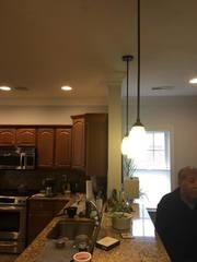 This customer wanted to add some natural light to their dimly lit kitchen area.