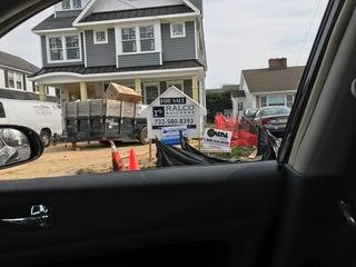 Even while driving, our employees find our signs all over! Have you had your home or project evaluated by a Coastal professional lately??