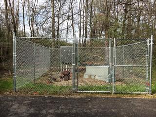 We installed this chain link fence at the Cranberry Township baseball fields. Affordable and durable - just what they needed!