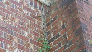 Foundation issues can cause big cracks to appear in walls or chimneys. This can often be a early warning sign to get it fixed.