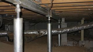 Supplemental Beams are used to cover the most area possible and provide even more stability and lifting.