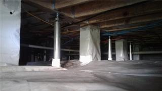 CleanSpaces are designed to block moisture and prevent build up that can damage your crawl space.