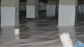 CleanSpace tape is used to completely seal of the sections of the CleanSpace so no moisture enters the space.