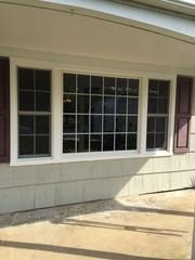 We installed this new picture window (which is a very popular style) on this beautiful suburban home in Norristown, PA