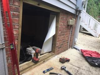 Some crawl space doors are a lot bigger than other which provides a better access point for materials and tools. However, our #1 team will get the job done regardless.