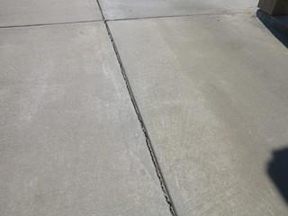 The first step in any Nexus Pro job is to identify the potential harmful areas and joints in your concrete.