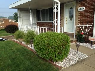 Our Baden customer's old railing that we removed and replaced!