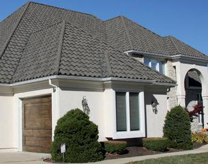 The durable Decra roofing.
