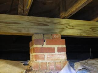 If a home's center beam is rotted or damage it can cause major changes in the structural performance of your home.