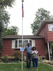 Raising Flags for Local Veterans