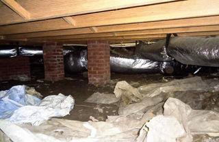 Before there was no barrier between the moisture and the home above causing a risk to the safety of the home and the homeowners.