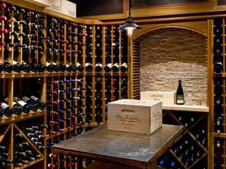 We installed this gorgeous wine cellar for a customer's home addition project.