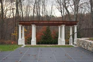 The beautiful new pergola installed by the experts at LG Building and Remodeling.