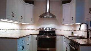 A newly remodeled kitchen by LG Building and Remodeling.