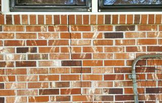 Cracks in or around a home are a good indication that the foundation could be failing.