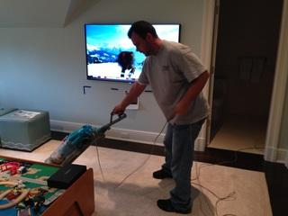 After installation we always make sure we clean up any debris or mess left from our install.