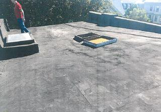 The existing shingle roof has outlived its usefulness and is in need of being replaced.