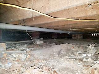 Homeowner Jorel had no idea his crawl space was in such bad condition because it was not something he thought to check.