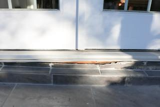 When Homeowner Chris noticed that his porch was sinking, he ignored the problem with the belief that it would not get any worse.