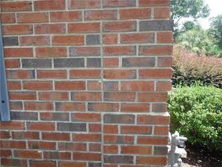 Homeowners David and Joanna noticed that the side of their home had begun to crack and sink.