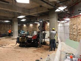Micropile Installationproject forSt. Anthony's Cancer Center in Oklahoma City, Oklahoma