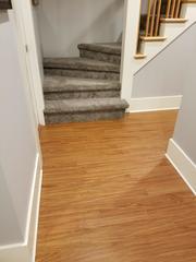 ThermalDry Elite Flooring is a great way to get the look of wood floors while being waterproof.