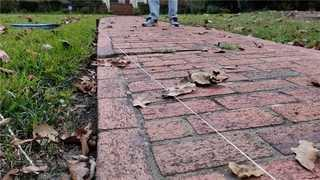 An uneven walkway is a dangerous tripping hazard to the homeowner and guests.