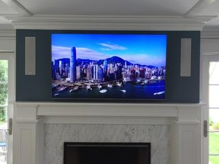TV Installation is complete and it's gorgeous.