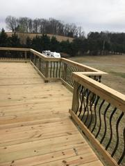 This is just one of the many decks we have built for home owners in the area!