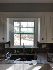 The thin fiberglass profile that Marvin's windows offer is an easy way to lighten up any space.