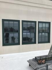 Marvin Ultimate Clad windows feature an extruded aluminum exterior which is designed to withstand weathering, erosion, and color loss for years to come