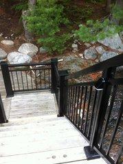 Quality handrail installation.