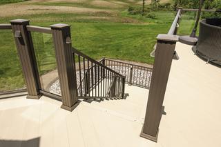 Beautiful handrail installation.