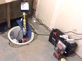 The Process of Installing the New Sump Pump