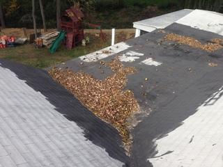 For some flat roofs, water may have a difficult time escaping and can lead to leaks.