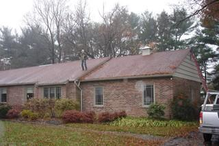 These homeowners wanted to replace their old shingles with a sustainable and energy efficient roofing option, making standing seam metal the best option.