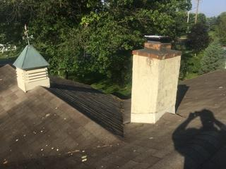 When shingles aren't installed professionally, the lifespan can be very short, in this case only 8 years.