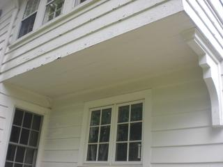This old wood siding held up for a very long time and these homeowners wanted to keep the authentic look but install a more reliable material.