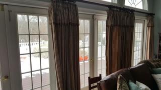 These old patio doors were letting leaks in, had rotted frames, and were letting heat escape.