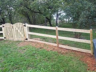 New paddock fence installed for a customer in Middlebury, VA